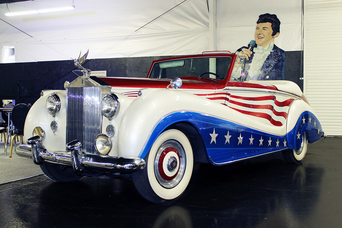 Liberace S Classic Red White And Blue Bicentennial Rolls Royce Hollywood Cars Museum